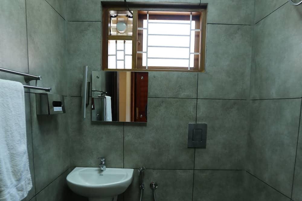 Habitación doble ejecutiva, 1 habitación, vista a la montaña - Baño