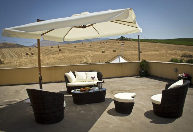 Agriturismo Baglio Pocoroba, Castellammare del Golfo, Terraza o patio