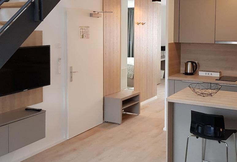Aparthotel Cosy, Stuttgart, Suite Gallery, Quarto
