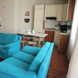 Külaliskorter, 1 magamistoaga, asukoht aias / aiapoolne - Lõõgastumisala