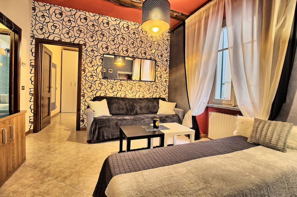 Апартаменты (2) - Зона гостиной