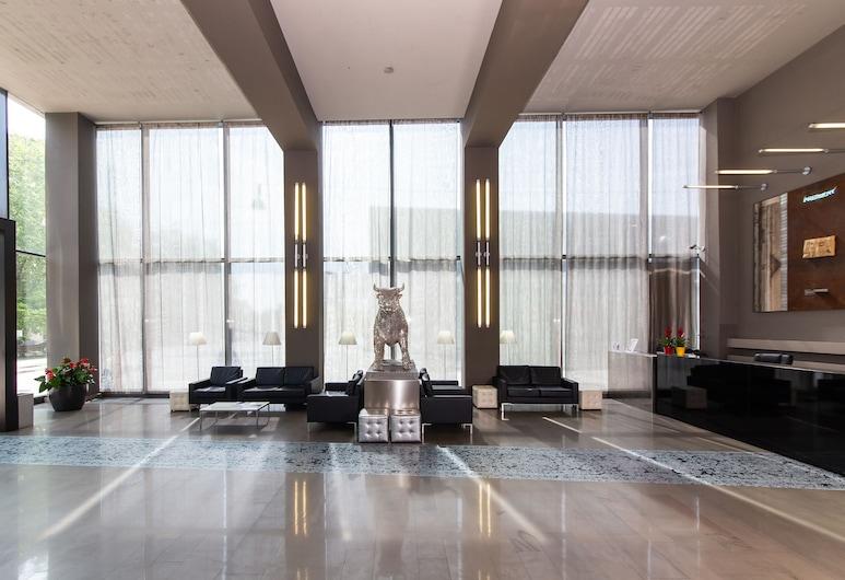 Art Hotel Olympic, Torino, Salottino della hall