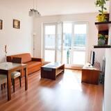 公寓 (Sloneczny, Muszelkowa 1/19) - 客廳