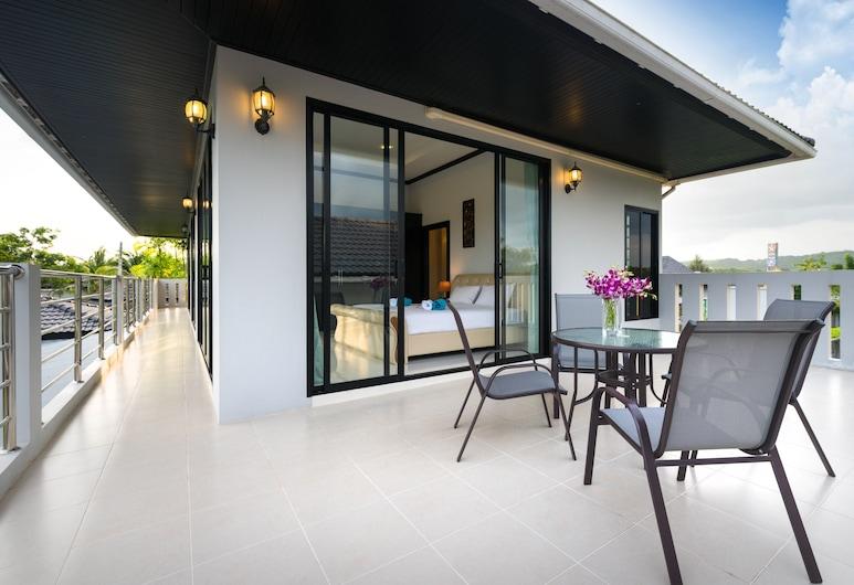 그랜드 빌라 럭셔리 홀리데이스 푸켓, Choeng Thale, 4-Bedroom Luxury Pool Villa , 테라스/파티오