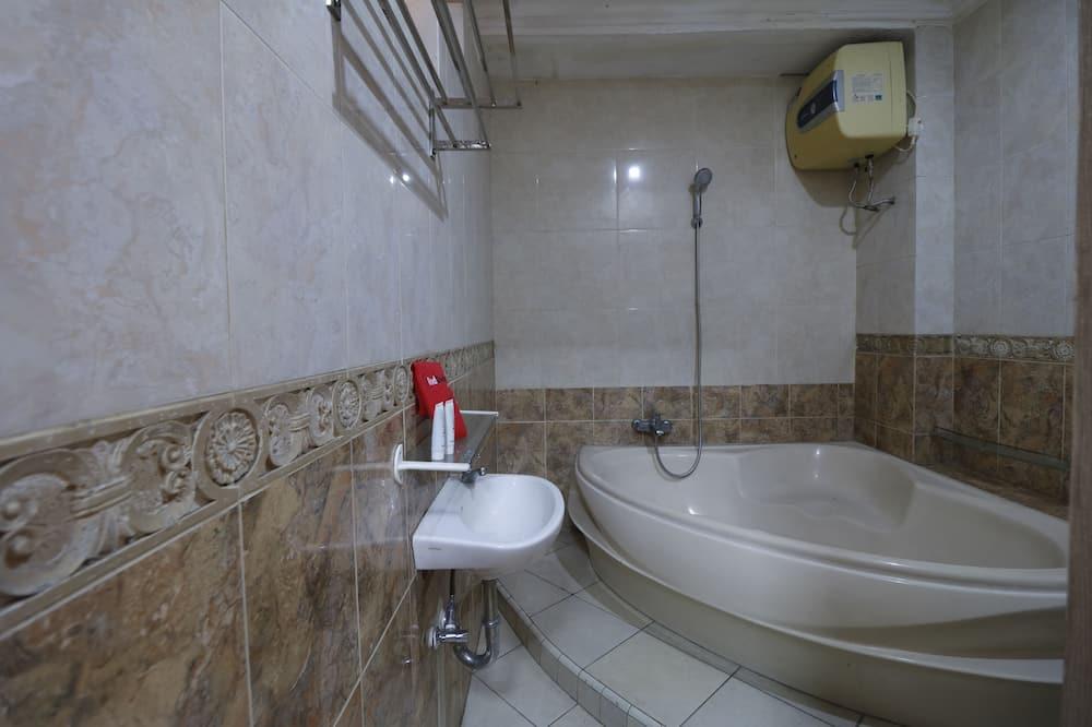 ห้องดับเบิล - ห้องน้ำ
