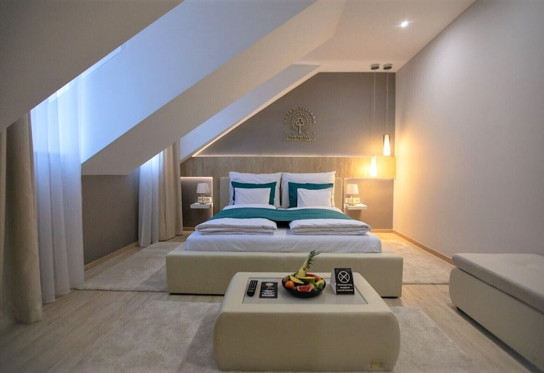 The Hotel Unforgettable - Hotel Tiliana by Homoky Hotels & Spa, Βουδαπέστη, Superior Δίκλινο Δωμάτιο (Double), Δωμάτιο επισκεπτών