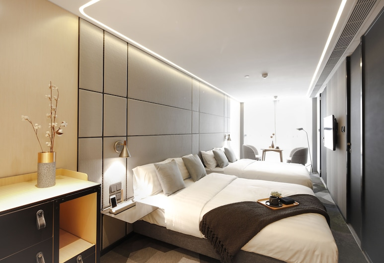 Hotel Ease Access Tsuen Wan , Čtvrť Kwai Tsing, Rodinný pokoj, Pokoj