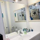 Comfort-Apartment, 2Schlafzimmer, Nichtraucher, Meerblick - Badezimmer