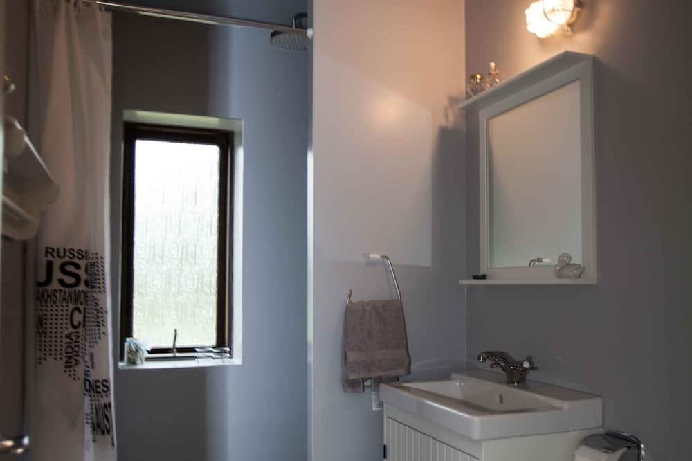 Standartinio tipo dvivietis kambarys, bendras vonios kambarys - Vonios kambarys