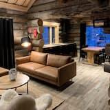Riverside Log cabin - Salon