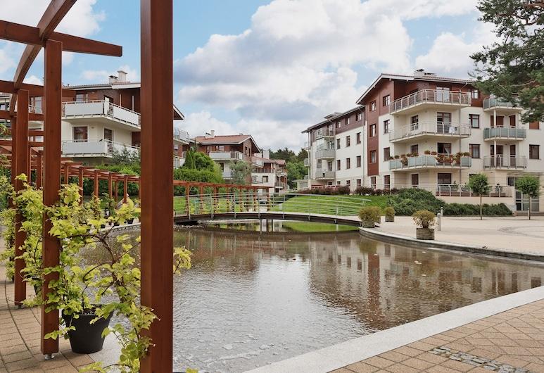 Dom&House-Apartments Neptun Park Premium, Gdansk, Húsagarður