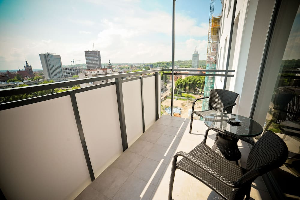 Apartemen Comfort (Bastion Walowa D76) - Balkon