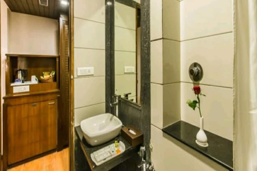 Deluxe kamer, 1 tweepersoonsbed - Badkamer