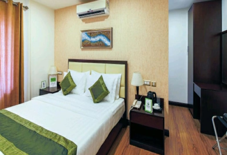 hotel Jai Palace, Jaipur, Quarto luxo, 1 cama de casal, Quarto