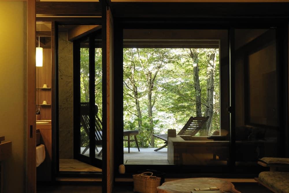 Kahden hengen huone, Terassi (Check in 3-6pm, Japanese Breakfast) - Parveke