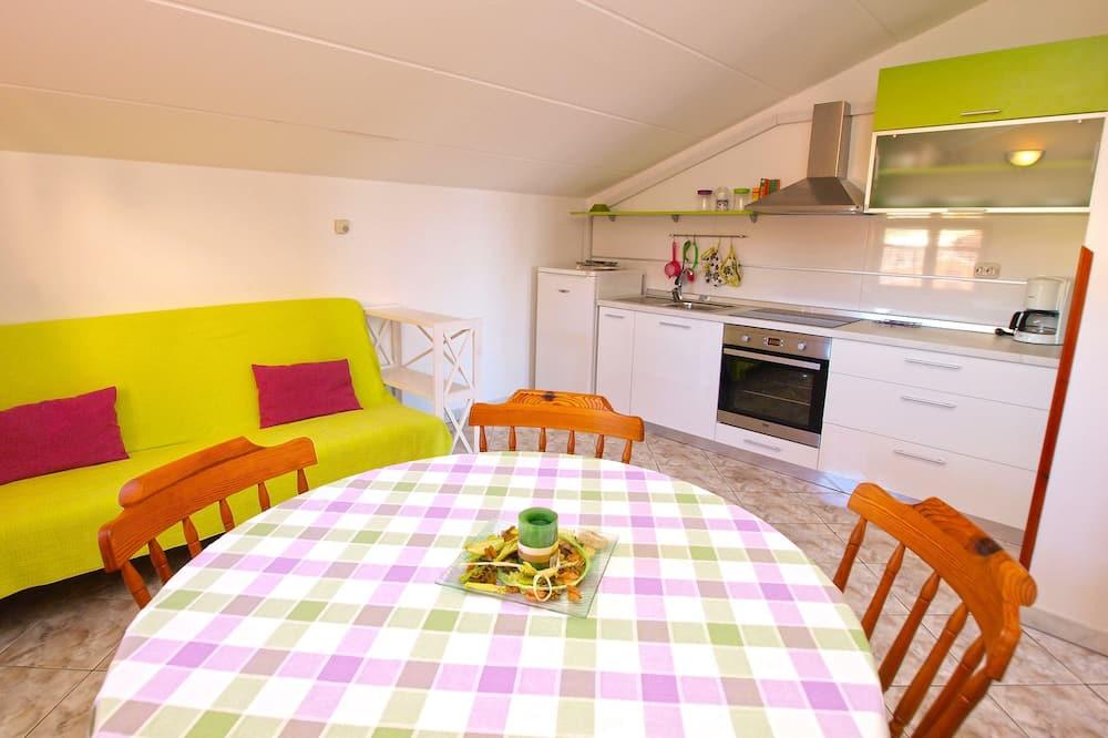 Apartamento, 1 Quarto (994/3137) - Refeições no Quarto