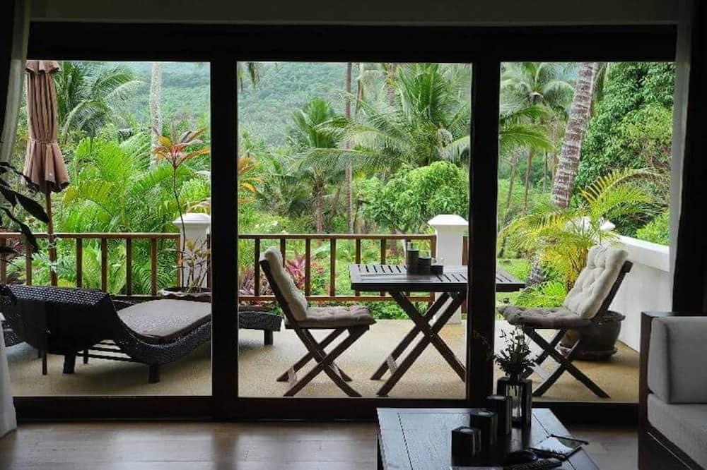 Villa, viena guļamistaba - Dzīvojamā zona