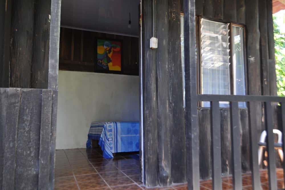 Grand bungalow, 1 tweepersoonsbed - Balkon