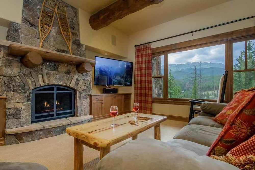 Luxury-Haus, 5Schlafzimmer, Whirlpool, Bergblick - Wohnbereich