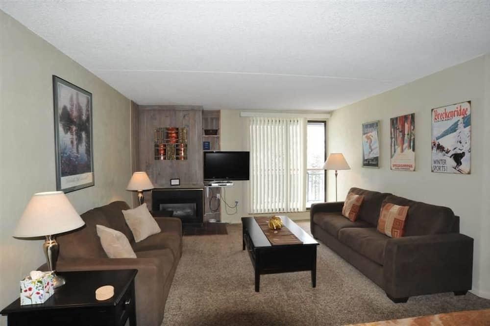 Elite Apartment, Balcony, Mountain View - Living Area