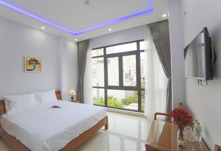 Summer Beach, Da Nang, Double Room, Windows, Guest Room