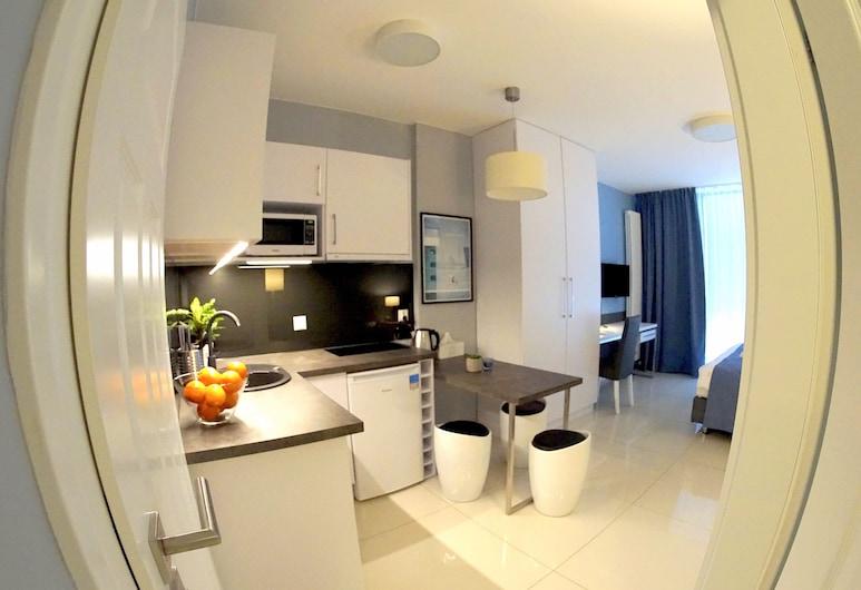 JessApart - Ochota Apartments, Warszawa, Apartament standardowy, 1 sypialnia, prywatna łazienka, Pokój