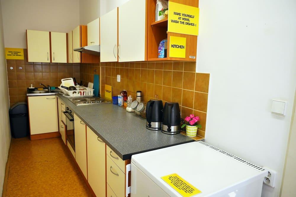 Delt kjøkken