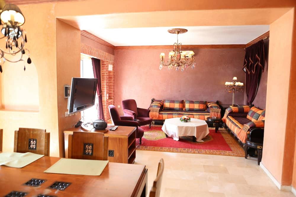 Deluxe-huoneisto, 3 makuuhuonetta - Olohuone