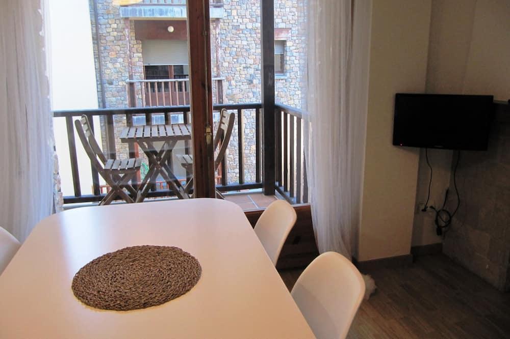 Lejlighed - 1 soveværelse - balkon - bjergudsigt - Spisning på værelset