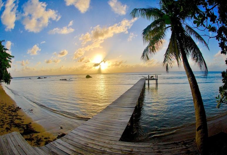 切茲納瑟青年旅舍, 布拉哈島, 海灘