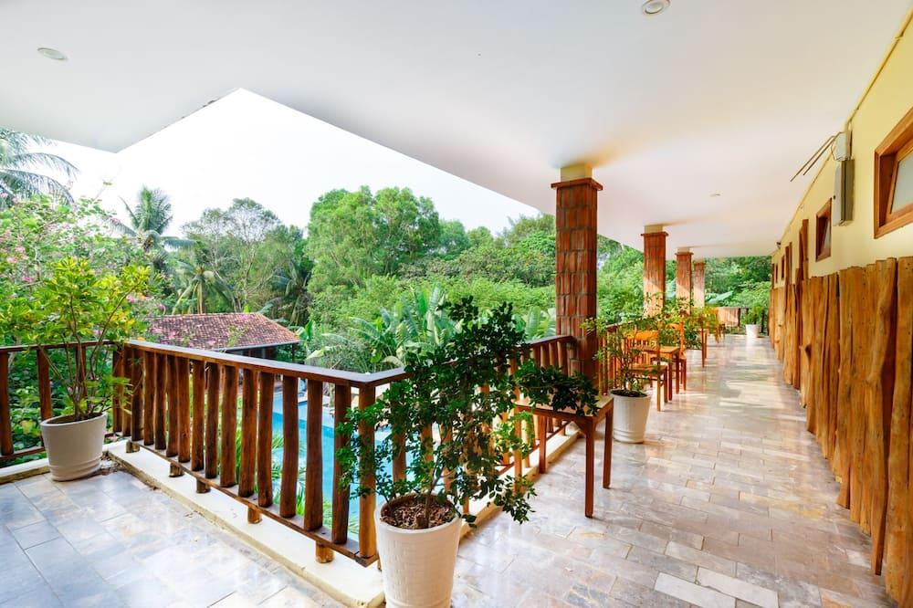 Superior trokrevetna soba, 1 spavaća soba, pogled na resort, vrt - Eksterijer