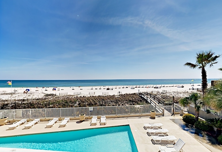 Reduced Winter Rates! Gulf-front 2br W/ Pool 2 Bedroom Condo, Orange Beach, Outdoor Pool