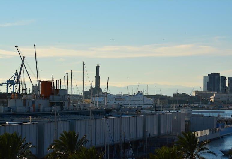 Le Finestre sul Porto Antico, Genova, Uitzicht vanaf kamer