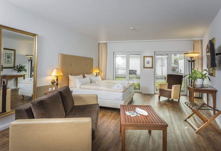 Hanse-City-Boardinghouse, 格來福瓦, 豪華開放式客房, 客房