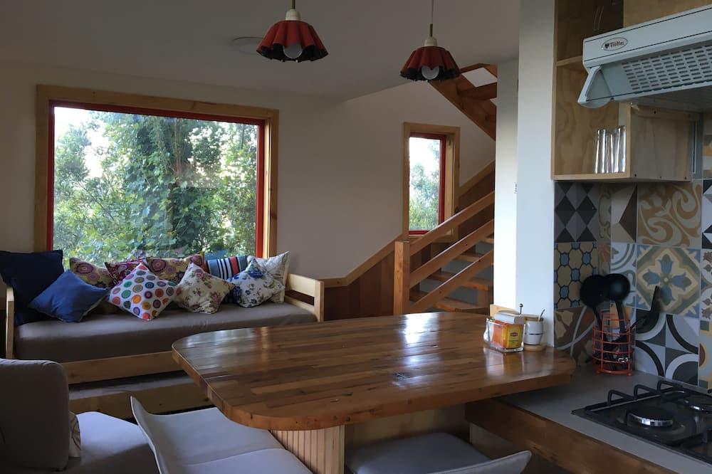標準小屋, 2 間臥室, 露台 - 客廳