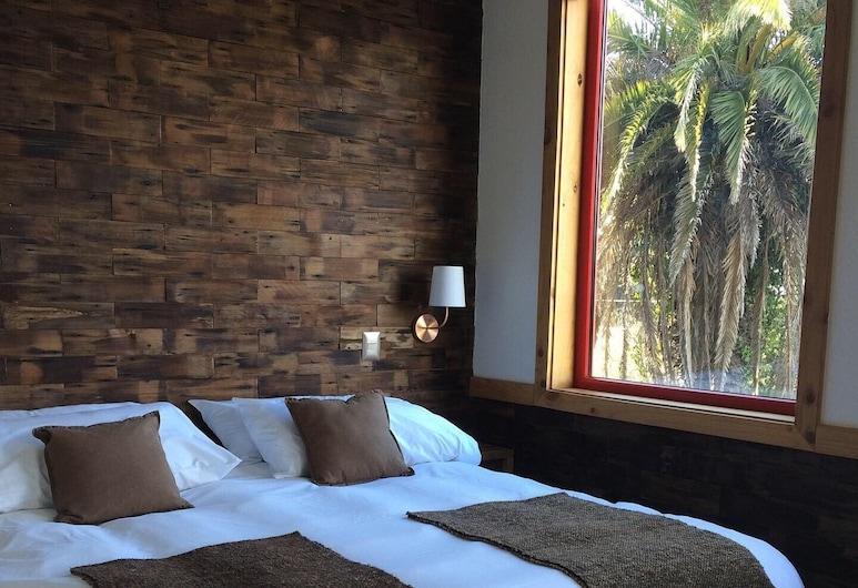 Cabanas Alma Bosque, Puerto Varas, Cabin Tiêu chuẩn, 2 phòng ngủ, Hiên, Quang cảnh vườn