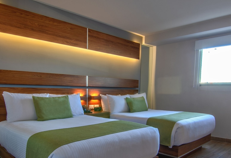 Sleep Inn Mexicali, מקסיקלי, חדר סטנדרט, 2 מיטות זוגיות, ללא עישון, חדר אורחים