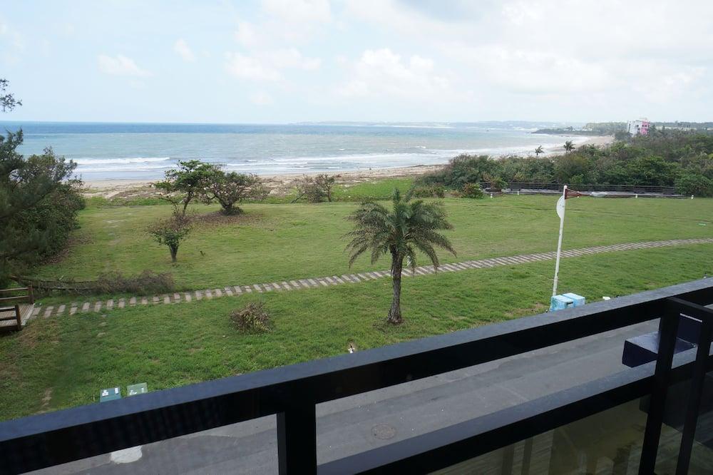 Habitación Elite doble, 1 cama de matrimonio, balcón, mirando al mar - Balcón
