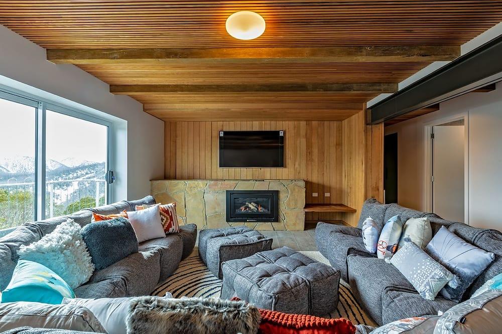 Luxe penthouse, 4 slaapkamers - Woonkamer