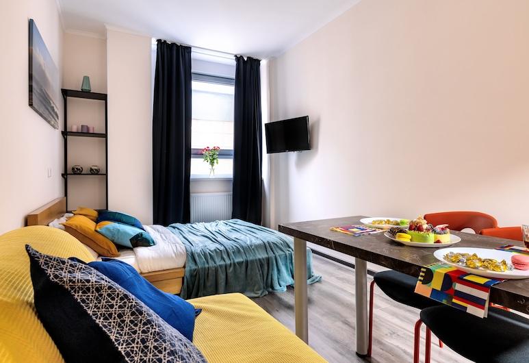 RentalSPb Apartment Graf Orlov, St. Petersburg, Economy Studio, Living Area