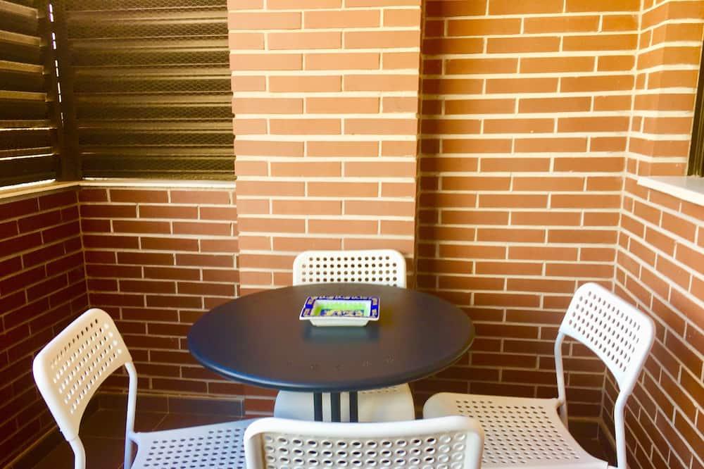 Апартаменти, 2 спальні, обладнано для інвалідів - Балкон