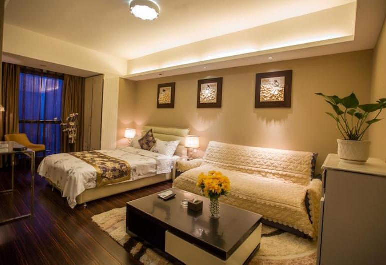 Zixinju Aparthotel, צ'אנגשה, חדר אקסקלוסיבי זוגי, חדר אורחים