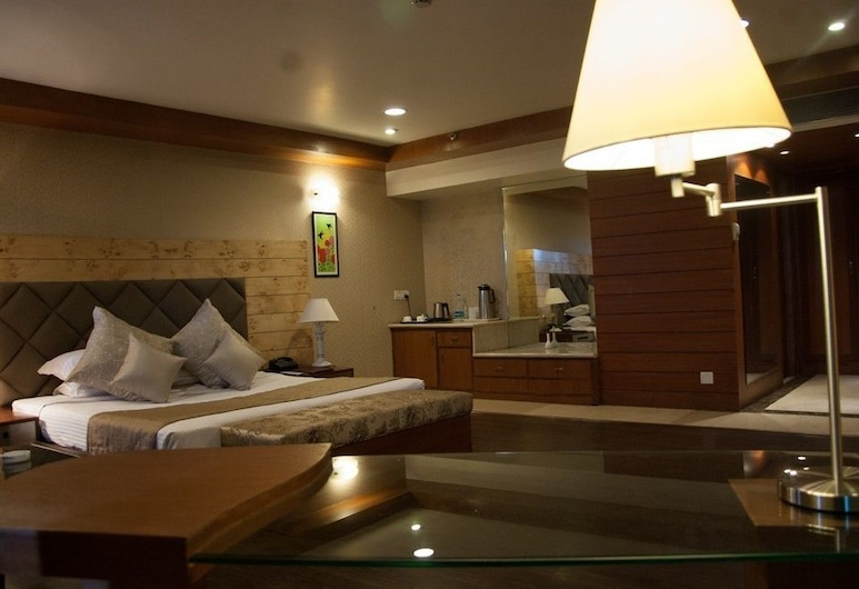 Hotel Shivalikview, Chandigarh, Chambre Deluxe, Chambre