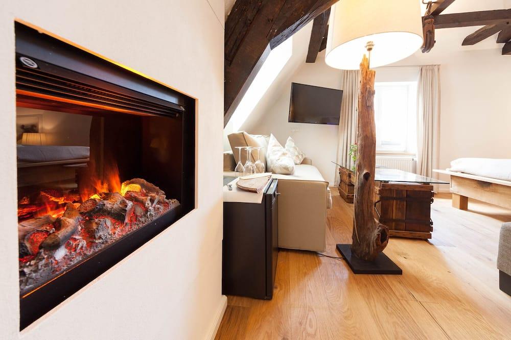 Suite, Sauna (Moselsteig) - Living Area