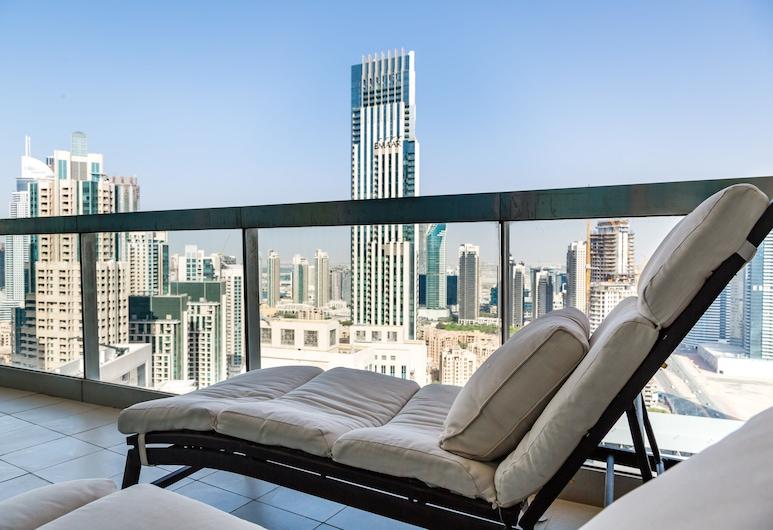 Higuests Vacation homes - 8 Boulevard, Dubajus, Liukso klasės apartamentai, 2 miegamieji, Balkonas