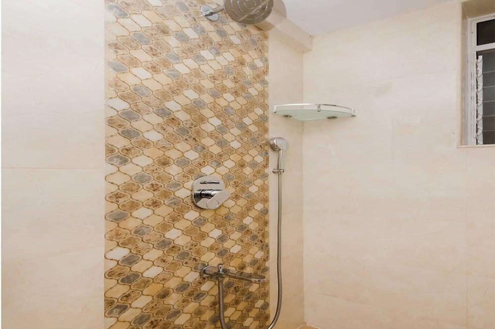 Habitación con 1 cama doble o 2 individuales - Regadera en el baño