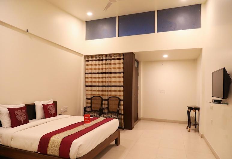 OYO 11889 White Hall, Nagpur, Dvokrevetna soba, Soba za goste