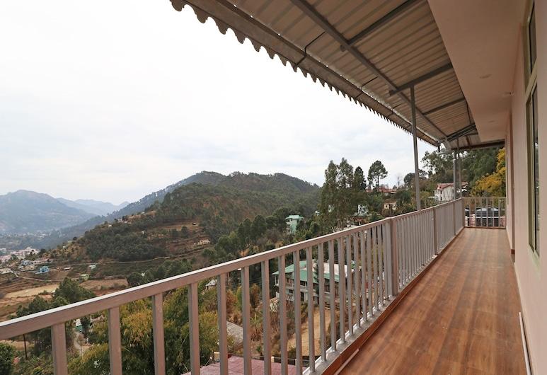 OYO 11541 Misty Heights, Nainital, Dobbelt- eller tomannsrom, Terrasse/veranda