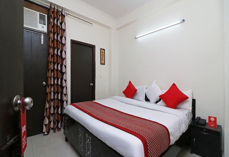 OYO 13046 The City Hospitality, Noida, Dvokrevetna soba, Soba za goste