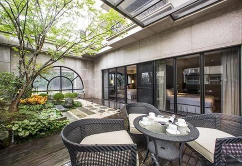 J Palace Residence, Taipei, Signature appartement, 4 slaapkamers, aan tuin, Balkon